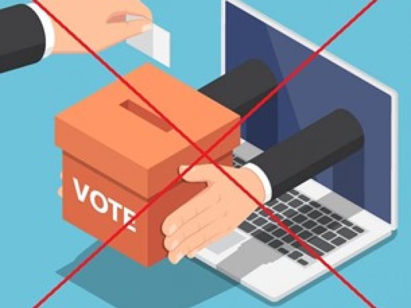 Καμία συμμετοχή στις «ηλεκτρονικές εκλογές» στις 7 Νοεμβρίου